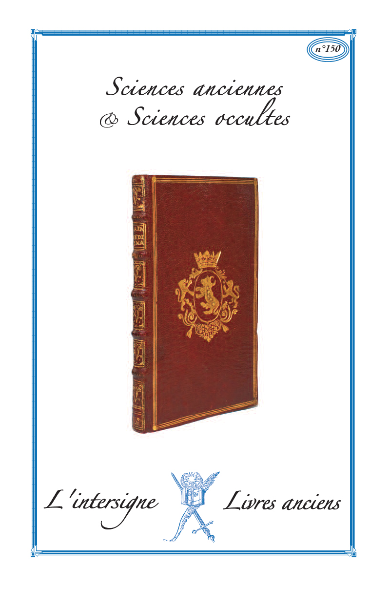 n°150 Sciences anciennes & occultes