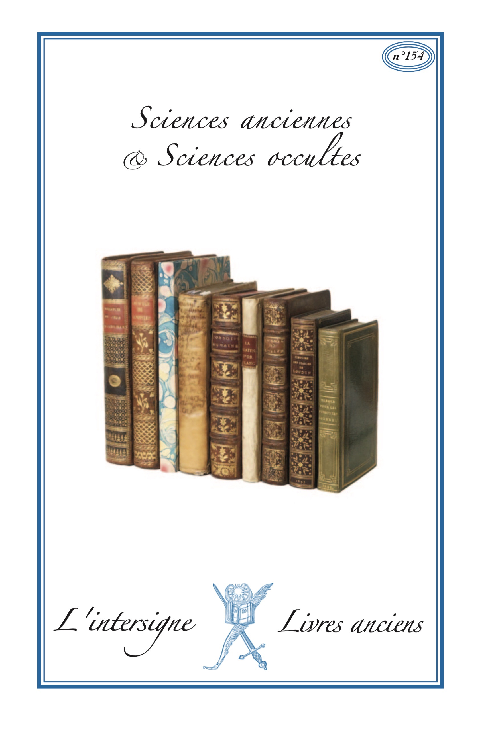 n°154 Sciences anciennes & occultes